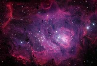 The Lagoon Nebula (M8)