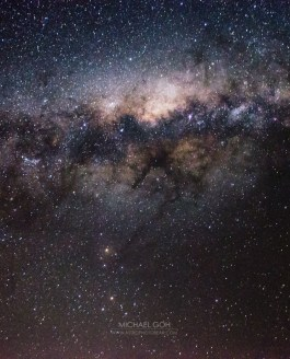 Processing astrophotography milkyway entry level camera