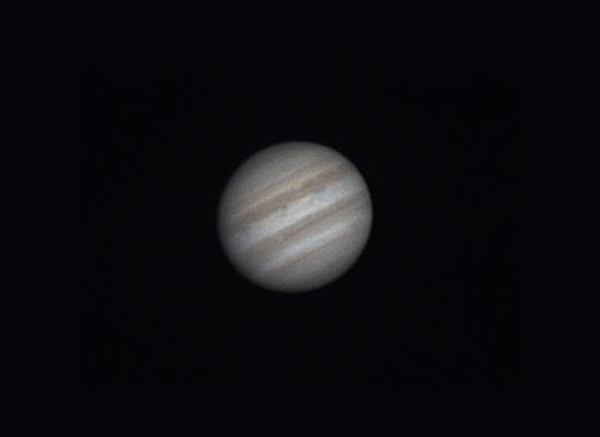 Jupiter planet shot by Skywatcher telescope