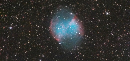 M27-The Dumbbell nebula