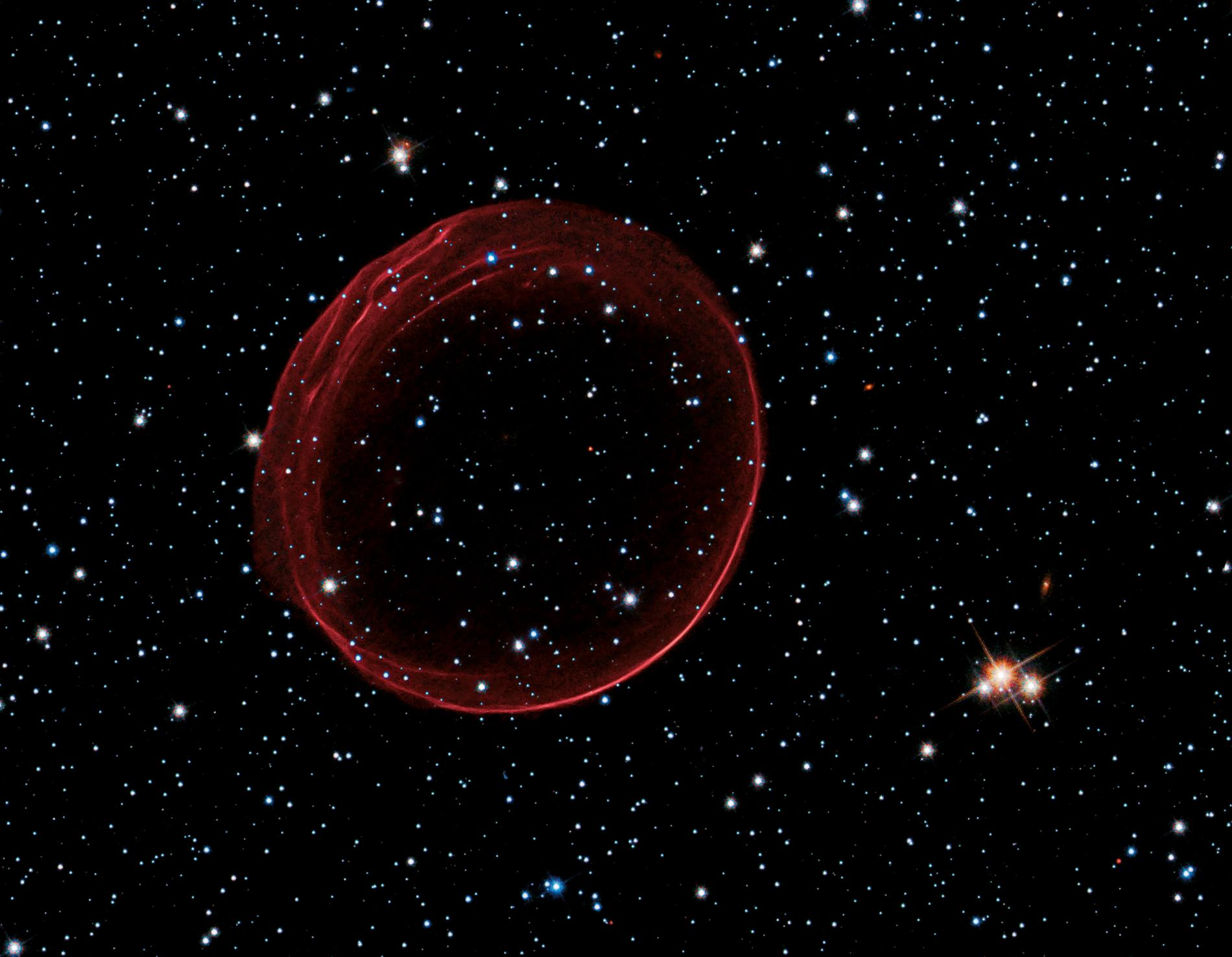 SNR B0509-67.5-supernova-hubble