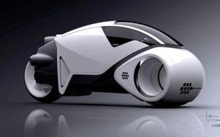 """TRON: LEGACY"" Concept Art/ Vehicle Design ©Disney Enterprises, Inc. All Rights Reserved."