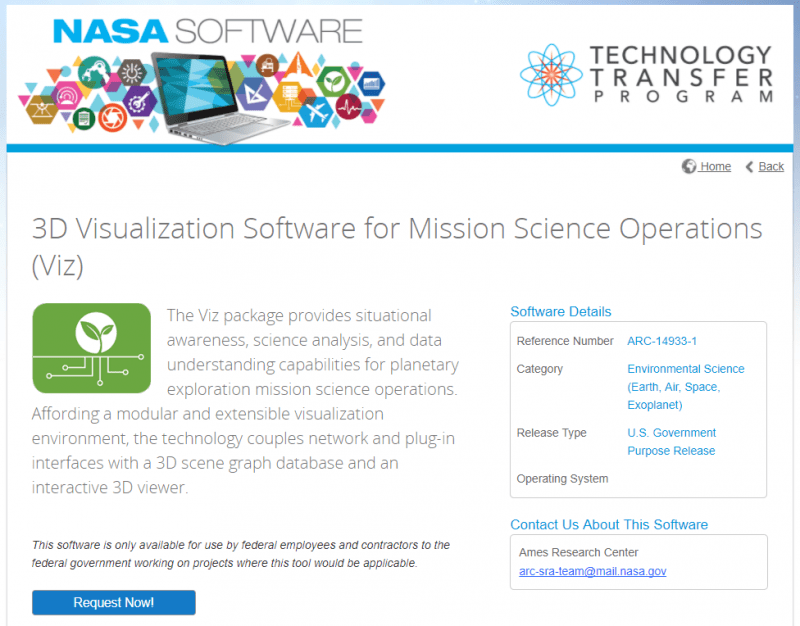 Example-NASA-software