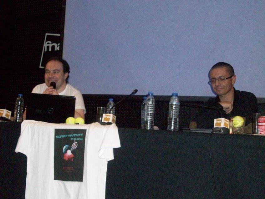 Carlos Oliveira e David Marçal. Crédito: Marina Frajuca