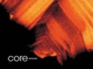 "Cortesia de Bruce Watson/Rensellaer""Core"" significa núcleo."