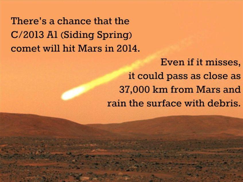 comet sliding