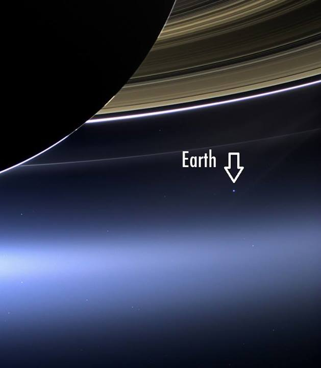 saturn earth