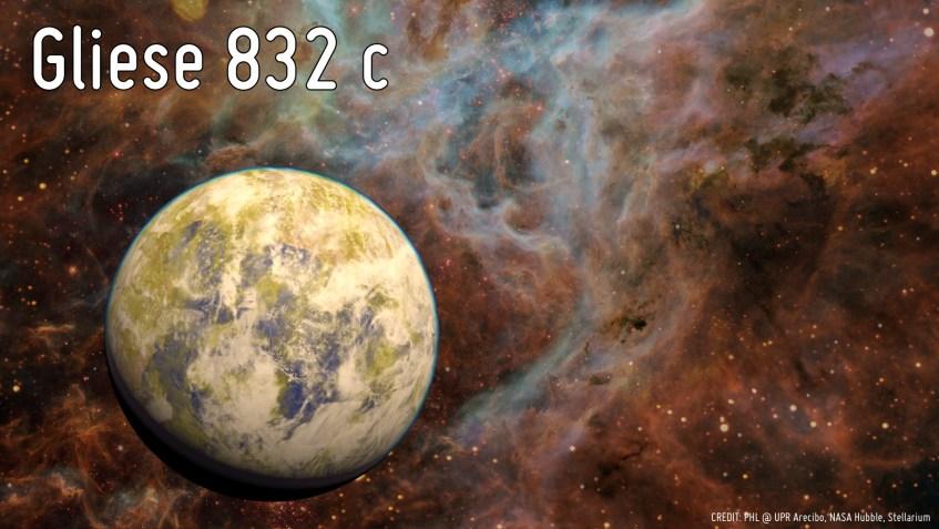 Gliese832c art