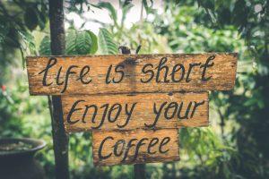 Het leven is te kort om alles onder controle te houden