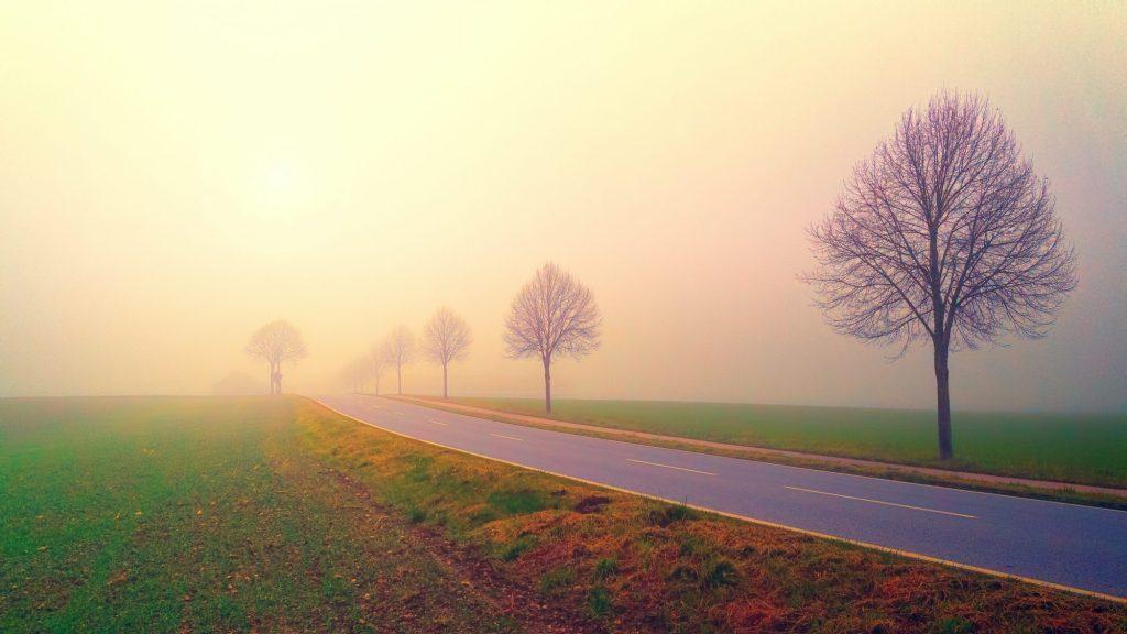 Navigeren in mist is niet gemakkelijk.