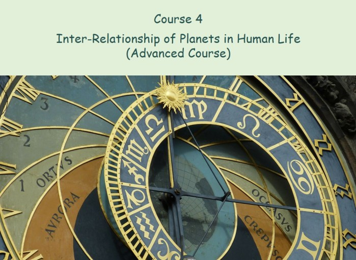 Inter-Relationship of Planets in Human Life (Advanced Course)