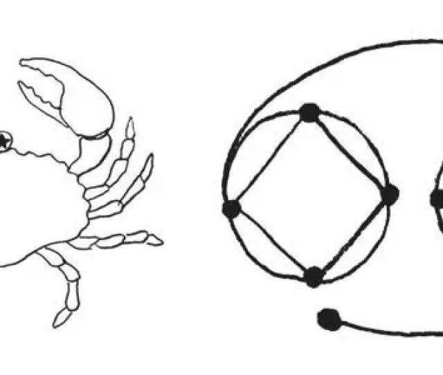 The Cancer Symbol Or Glyph Is Designed To Depict The Crab And Its Claws This Is The Cancer Horoscope Symbol And The Character That Represents This Zodiac
