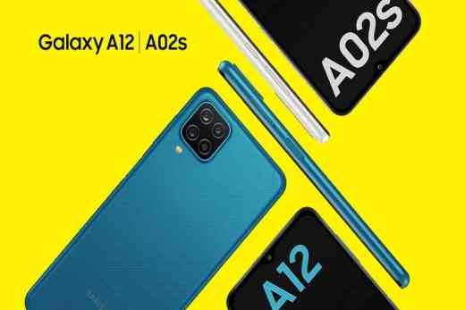 Galaxy A12 and A02S - Samsung 2021 entry-level phones
