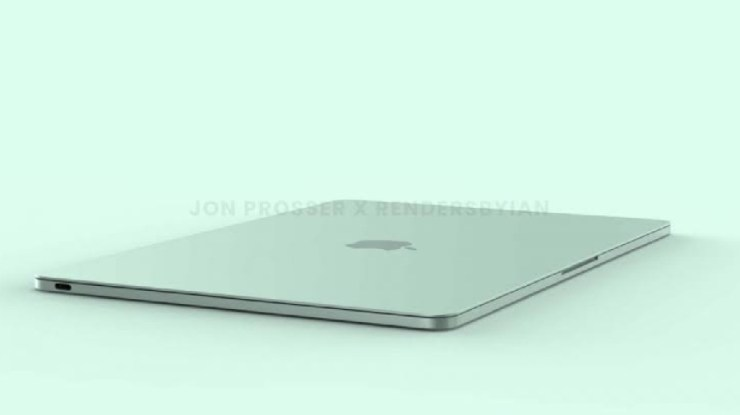 2021 MacBook Air leaked in iMac colours and a flat design
