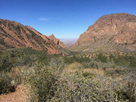 The Chisos Valley