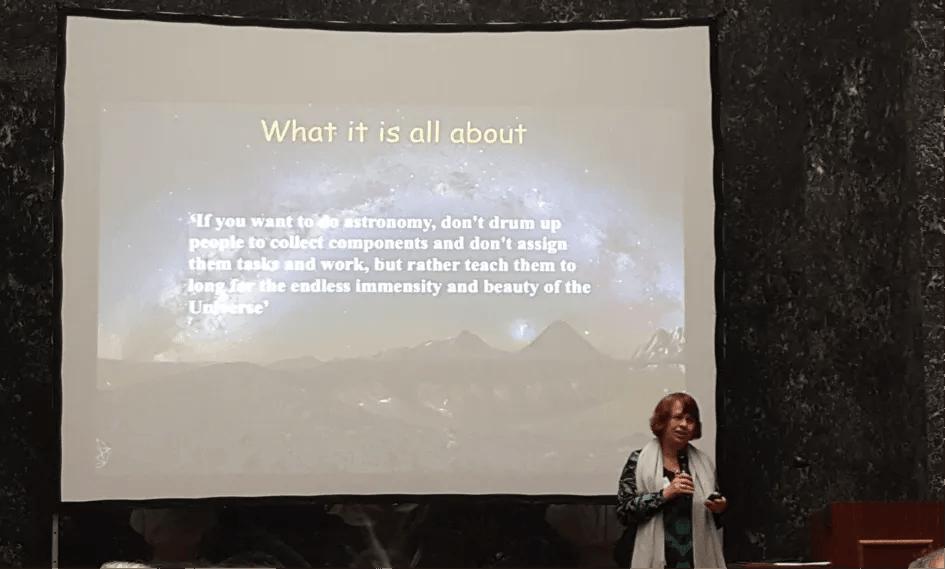 Dan astronoma amatera u Bruxellesu, travanj 2019.