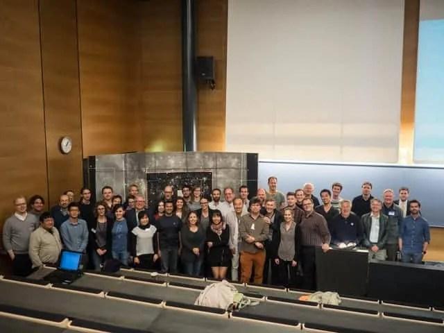 Tim COSMOS na sastanku 2015. u Helsinkiju
