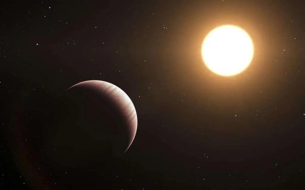 Umjetnički prikaz egzolanetnog sustava; izvor: ESO/L. Calçada