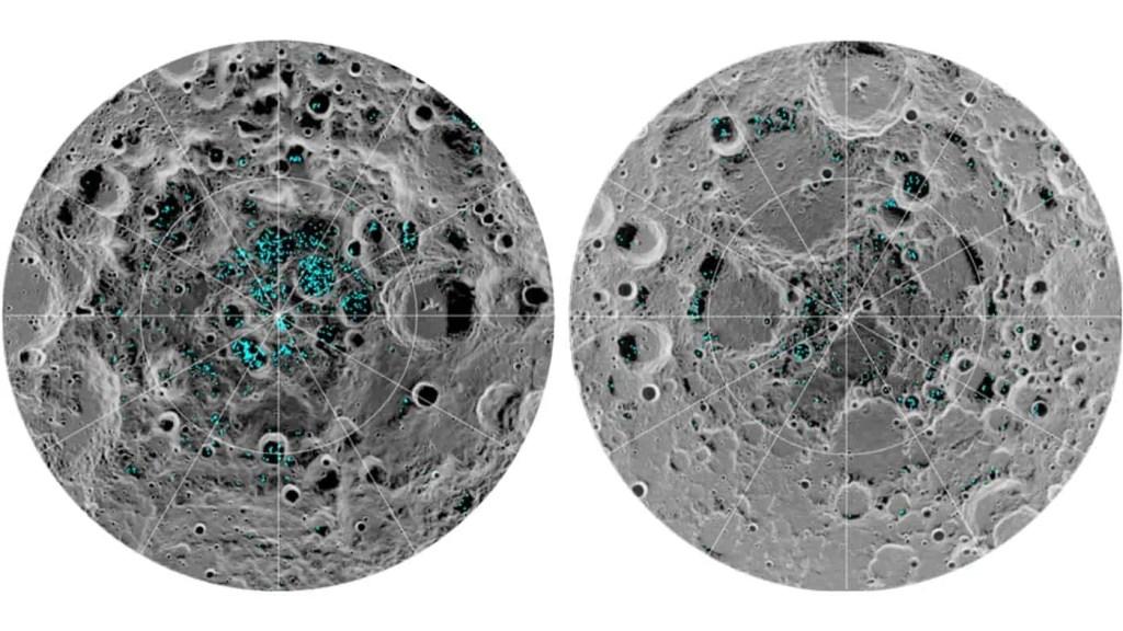 Led na Mjesecu, izvor: NASA