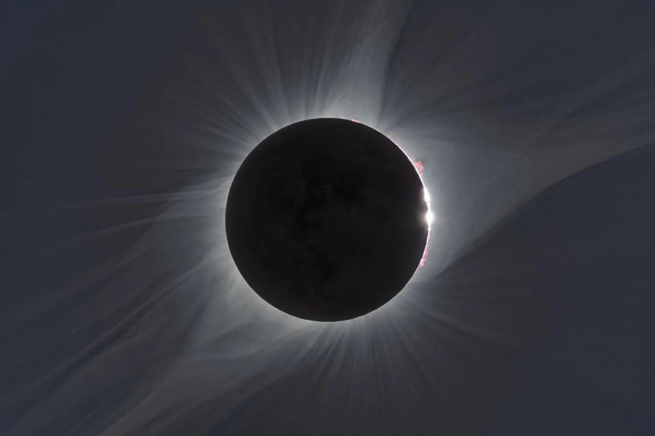 Potpuna pomrčina Sunca, 21. 08. 2017. Izvor: ESO/P. Horálek/Solar Wind Sherpas project