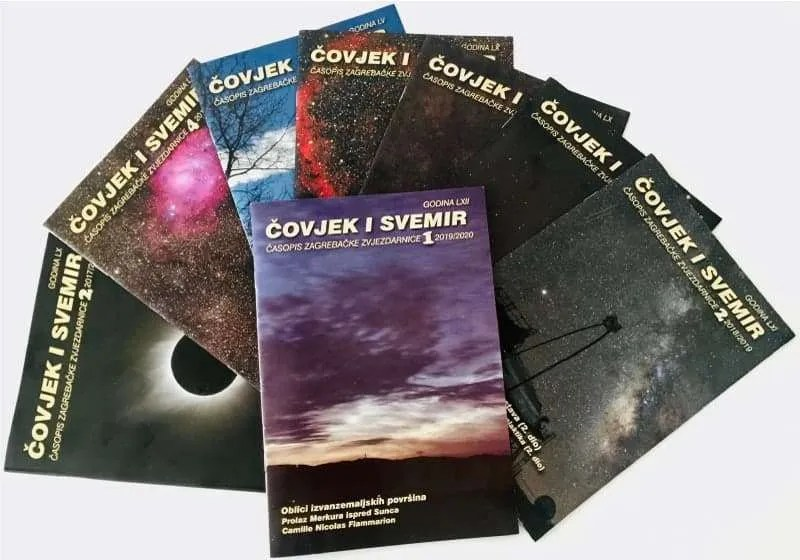"Časopis o astronomiji i svemiru Zvjezdarnice Zagreb: ""Čovjek i svemir"""