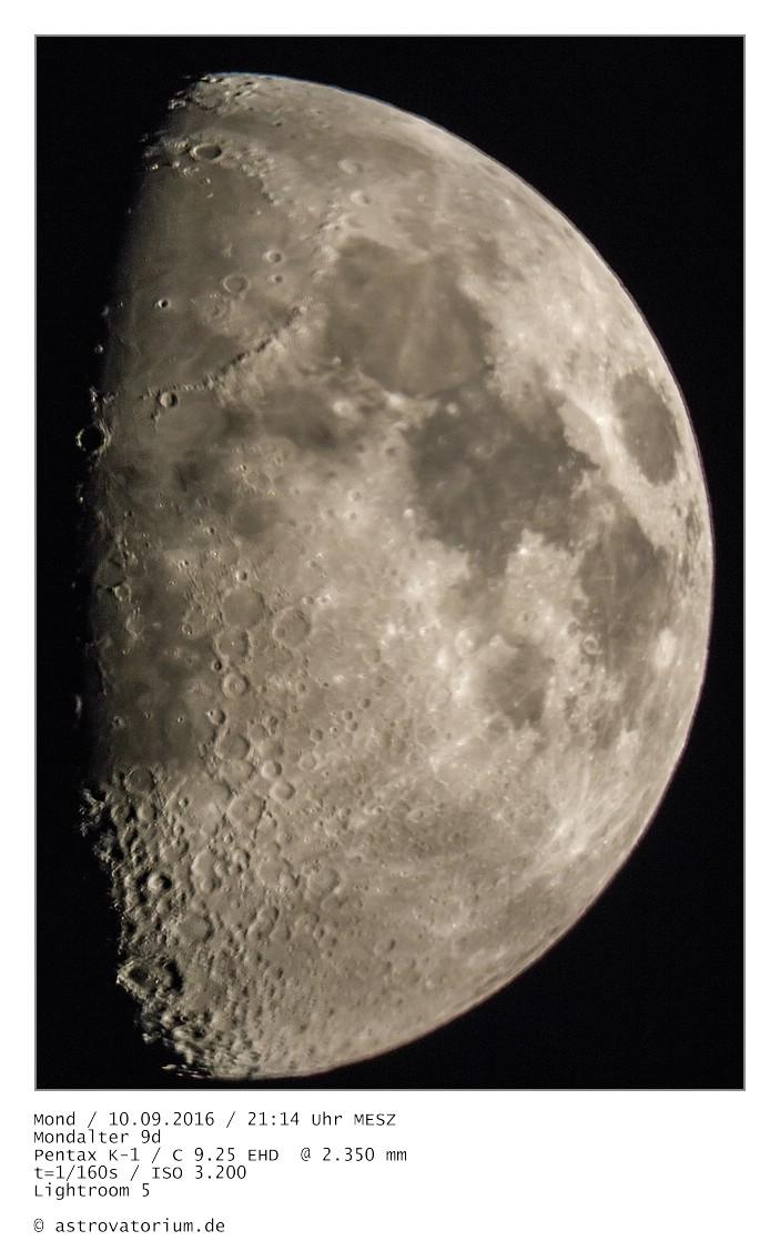 Zunehmender Mond 9 Tage