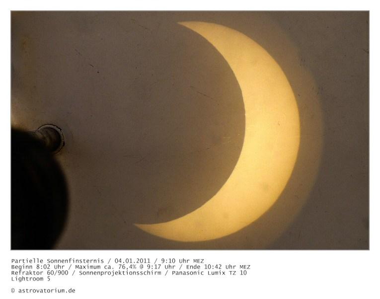 Partielle Sonnenfinsternis 2001