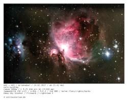 170224 Orionnebel M42+M43 V2