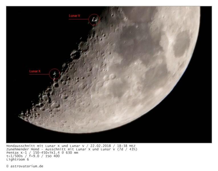 Lunar X, Lunar V