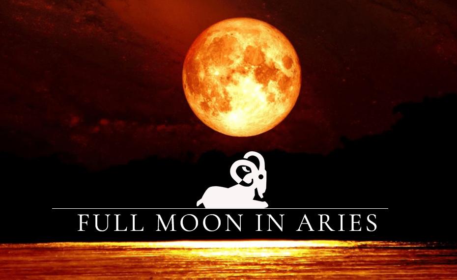 Full Moon In Aries 2020