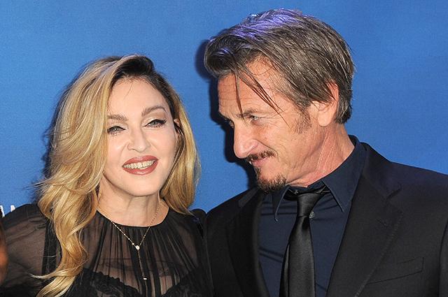 Мадонна и Шон Пенн 2018