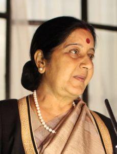 Sushma_Swaraj_aquarius free 2017 Aquarius  horoscope kumbha rashi predictions