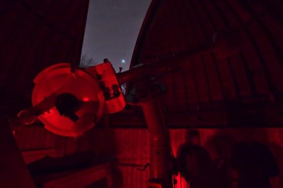 in der Forststernwarte (Bild der Urania Sternwarte)