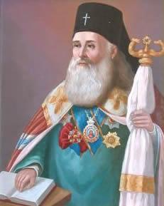 Архиепископ Евгений I - 1844- 1856 гг. - из собрания портретов астраханских иерархов, Архиерейский дом, г.Астрахань
