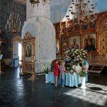 В верхнем храме Успенского собора