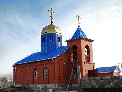 Строящийся храм блж. Матроны Московской, с.Самосделка