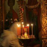 Пасхальное богослужение, 15 апреля 2012 года