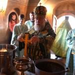 Архиерейское богослужение в день преподобного Кирилла