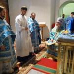 Сретение Господне, хиротония священника Димитрия Невежина