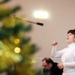 Рождественское представление в музыкальной школе