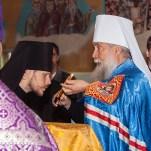 14 апреля 2013 года, Неделя прп. Иоанна Лествичника, служение митрополита Ионы