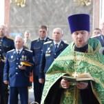 Благодарственный молебен по окончании конного похода Астраханских казаков