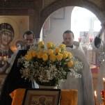 Освящение Никольского храма в селе Ильинка