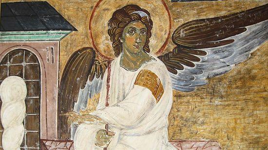 Ангел у гроба