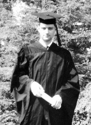 Евгений Роуз — выпускник Помоны. 1956 г.