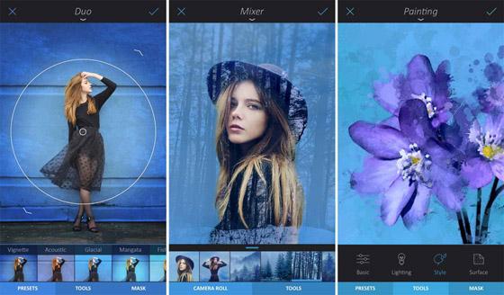 meilleures applications de retouche photo