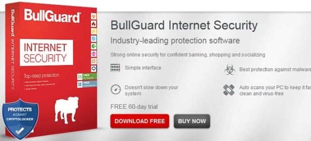 Bullguard - Meilleur Antivirus 2018