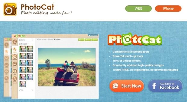 photocat - Comment modifier vos photos sur PC sans aucun logiciel