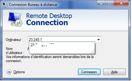 Connexion bureau à distance - 5