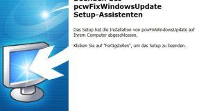 Mise à jour Windows - réparation PC